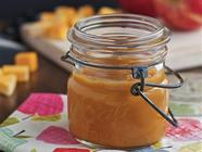 Slow Cooker Sweet Potato Applesauce found on PunkDomestics.com