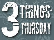 Three Things Thursday: August 16, 2012 found on PunkDomestics.com