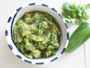 Roasted Tomatillo Salsa found on PunkDomestics.com