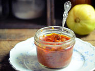 Spicy Heirloom Tomato Relish found on PunkDomestics.com