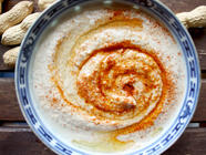 Peanut Sauce with Ginger and Garlic found on PunkDomestics.com