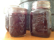 How to Make and Can Wild Concord Grape Jam found on PunkDomestics.com